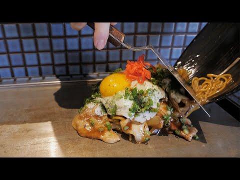 간판없이 소문난 철판 야키소바 맛집 / pork fried noodles – Yakisoba / korean street food