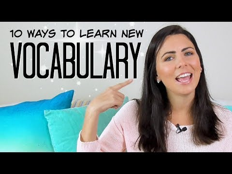 10 Ways To Learn More English Words