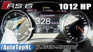 AUDIRS6KLASEN1012HP0-328km/hACCELERATION&TOPSPEEDbyAutoTopNL