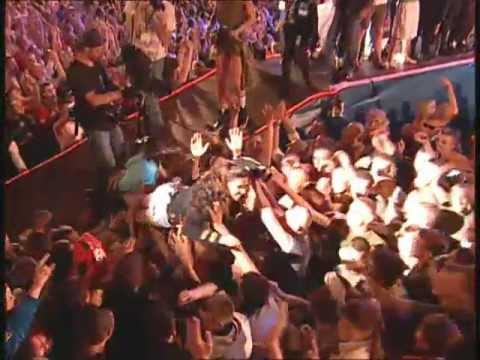 Ruslana STAGE DIVING and CROWD SURFING -
