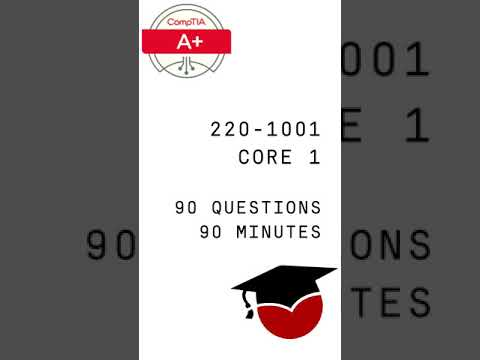 CompTIA A+ Core 1 Domains Review | 220-1001 Exam Objectives ...