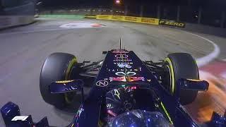 Vettel Lights up the Singapore Streets | 2012 Singapore Grand Prix