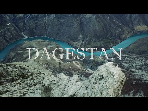 Аэросъёмка. Каспийск. Сулакский каньон. Чиркейская ГЭС.