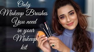 BEGINNERS GUIDE TO MAKEUP BRUSHES (DON'T WASTE YOUR MONEY   ONLY BRUSHES U NEED & THEIR MULTIPLE USE