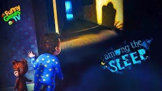 СИМУЛЯТОР МАЛЫША детский хоррор в котором мы играем за маленькую девочку Among the Sleep