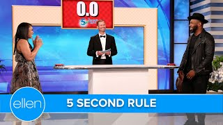Regina Hall and tWitch Play '5 Second Rule'