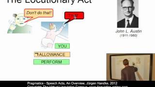 SEM141 - Speech Acts - An Overview