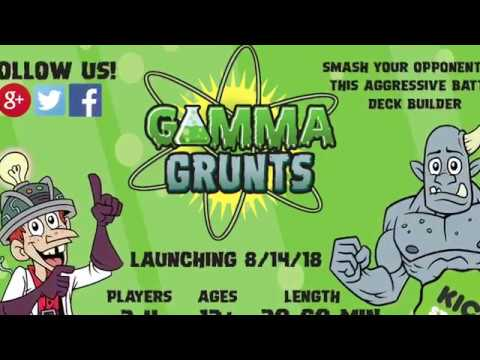 Gamma Grunts: A Deck Smash Game