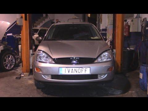Ремонт автомобиля Ford Focus 1,8TDdi 2000 год, замена сцепления