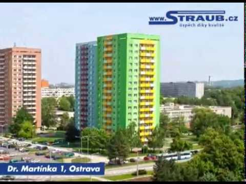 Zateplení panelového domu v Ostravě na ul. Dr. Martínka 1
