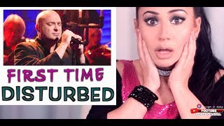 Vocal Coach REACTS To DISTURBED Sound Of Silence  | Lucia Sinatra