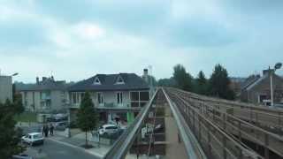 preview picture of video '[Laon] POMA - Hôtel de Ville / Gare par Vaux'