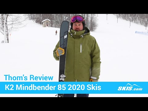 Video: K2 Mindbender 85 Skis 2020 20 40