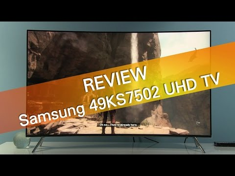 Samsung KS7500 KS8500 curved UHD TV review