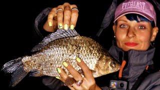 Удочка для ночной рыбалки на карася