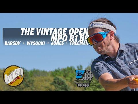 2021 Vintage Open | RD1 B9 | Barsby, Wysocki, Jones, Freeman