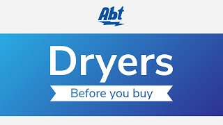 Buying Guide: How To Select A New Clothes Dryer