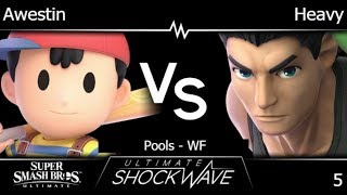 USW 5 - FX | Awestin (Ness) vs Heavy (Little Mac) Pools - WF - SSBU