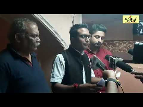 Press Conference by JK Youth Congress District President