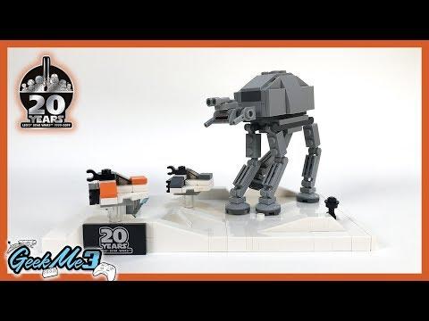 Vidéo LEGO Star Wars 40333 : Battle of Hoth - Édition 20ème anniversaire