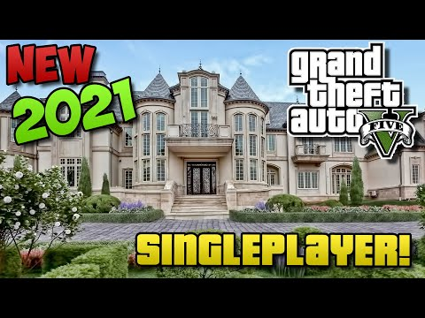GTA 5 - How To Buy Houses In Singleplayer! (GTA 5 Easter Egg / Glitch Tutorial Parody!)