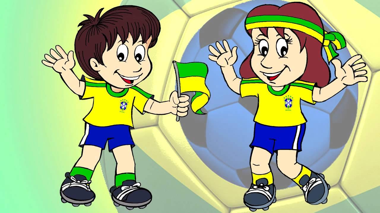 EU TORÇO PRO BRASIL - BRASILIAN TEAMS    Clip Infantil