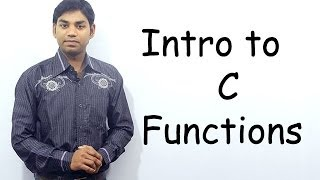 Download Youtube: Intro to C Functions (HINDI/URDU)