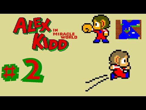 Let´s play Alex Kidd in Miracle World - Part 2 [GERMAN]