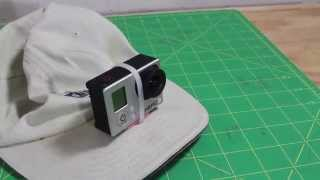 Quick Tip: Attach GoPro to Cap and Plane