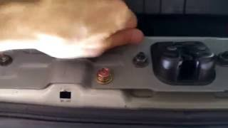 How to temporary fix your trunk if trunk latch / lock won't close 350Z G35 Nissan Infiniti DIY