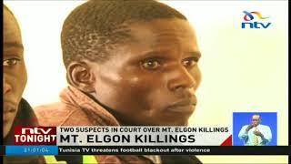 Mt Elgon unrest suspects face murder, rape charges - VIDEO