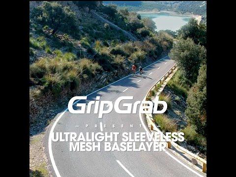 GripGrab 3pak Ultralight Mesh svedundertrøje uden ærmer hvid video