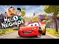 HELLO LIGHTNING MCQUEEN (Disney Pixar Cars) | Hello Neighbor Mod