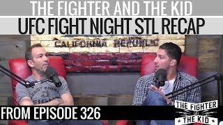 The Fighter and The Kid Recap UFC Fight Night Choi vs Stephens