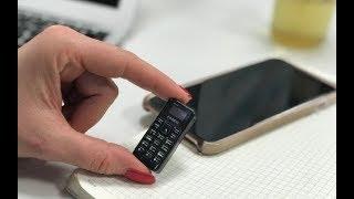 Самый маленький мобильный телефон! Он работает?