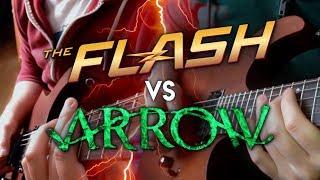 Flash vs Arrow Theme on Guitar