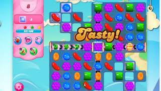 Candy Crush Saga Level 3290 -18 Moves- With 1 lollipop hammer