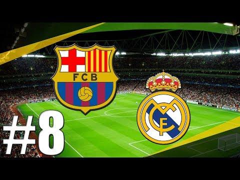 FIFA 18   Koblih Golmanem   Bitva s Realem Madrid a Barcelonou!?   PART 8   CZ/SK