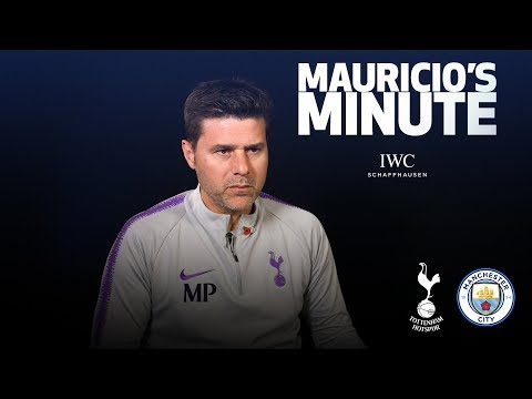 MAURICIO PREVIEWS MAN CITY CLASH | MAURICIO'S MINUTE