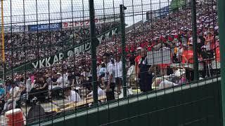2018夏甲子園まさかの監督イジリ!敦賀気比高校の面白い応援