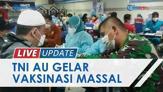Kondisi Gelaran Vaksinasi Covid-19 TNI AU di Mal Pondok Gede, Targetkan 5 Orang Disuntik Vaksin
