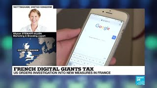 French digital giants tax: US orders investigation into new measures in France