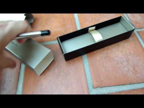 Unboxing Parker - Pluma estilográfica y caja (acero inoxidable, punta fina)