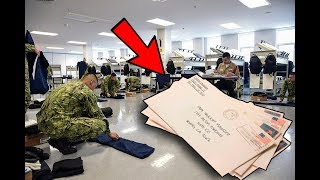 How Mail Works In Navy Boot Camp - Sending Pictures?