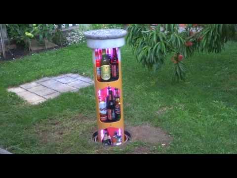 Deluxe Hopfenhöhle, elektrischer Erd-Bierkühler