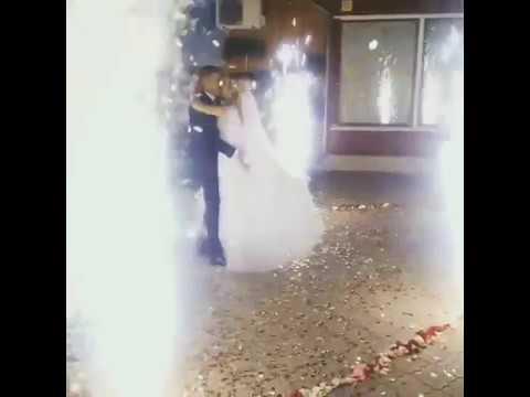 Оформлення весільного танцю спецефектами, відео 13