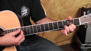 Easy Acoustic Guitar Songs - Tesla Style Chord Progression - inspired by