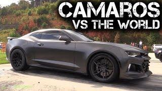 Camaro Takeover! Insane Rides Take on Half Mile Racing!