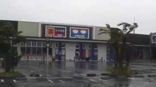 2014年7月8日12時、台風8号接近後の宮古島市の様子