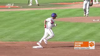 Clemson Baseball || College of Charleston Game Highlights - 3/19/19
